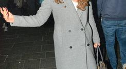 Nadia Forde spotted Christmas shopping on Grafton Street with gal-pal Lynn Kelly