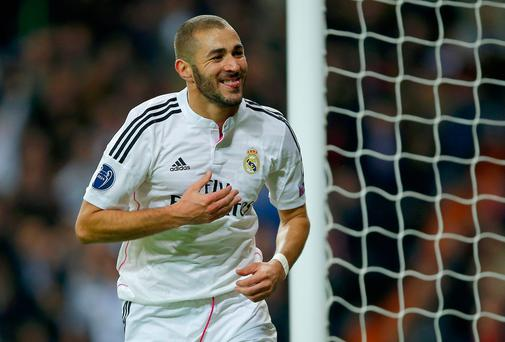 Arsene Wenger is a big fan of Karim Benzema
