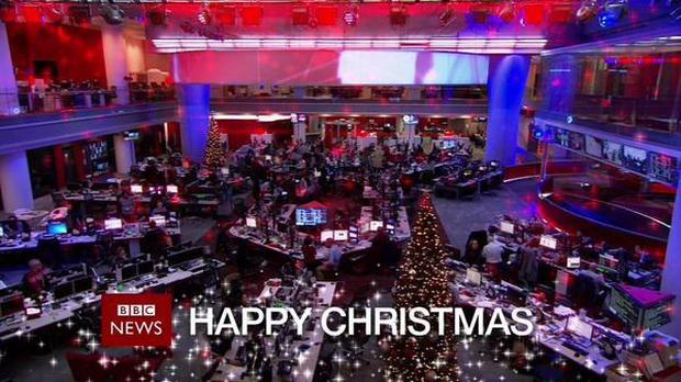 Happy Christmas from the BBC