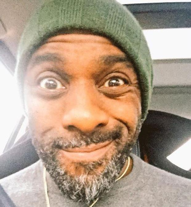 Idris Elba posted a pic on Twitter following the Bond casting rumours