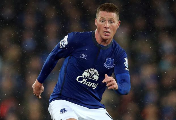 James McCarthy's fitness is a concern for Ireland manager Martin O'Neill after he was withdrawn at half-time in Everton's defeat at Newcastle. Chris Brunskill/Getty Images