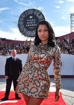Singer Nicki Minaj attends the 2014 MTV Video Music Awards