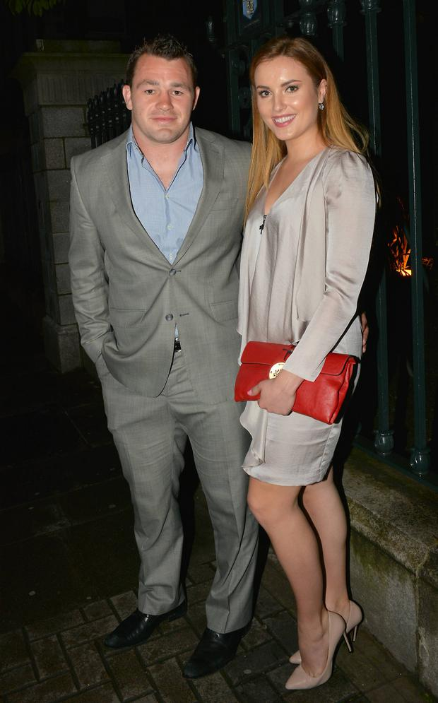 Holly Carpenter with ex Cian Healy