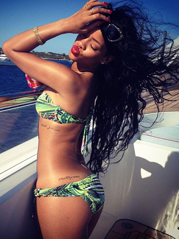 2013: All hail Rihanna, the true queen of Instagram.