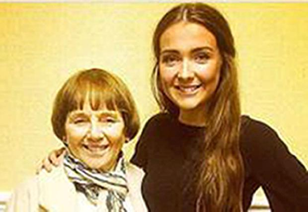 Lorraine Sweeney (left) and her granddaughter Erin McQuade (right) who were two of the six people killed when a bin lorry lost control, hitting Christmas shoppers in Glasgow