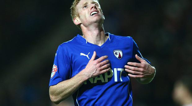 Irish striker Eoin Doyle has moved from Chesterfield to Cardiff City for £850,000 on a three-year deal. Photo: Clive Mason/Getty Images