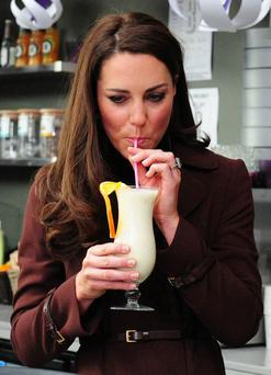 Kate Middleton is a fan of healthy juices and smoothies