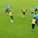 Martin Demichelis unleashes an unstoppable volley