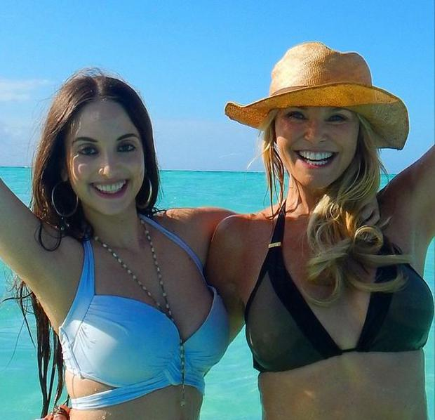 Christie Brinkley rocks a bikini with daughter Alexa Ray Joel
