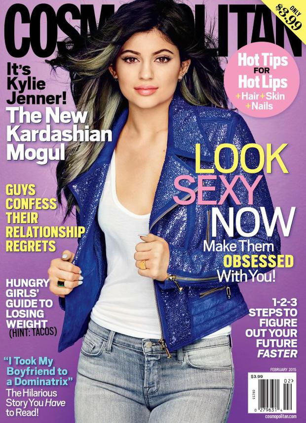 Kylie Jenner covers Cosmopolitan magazine