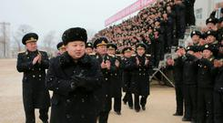 North Korean leader Kim Jong Un (REUTERS/KCNA)