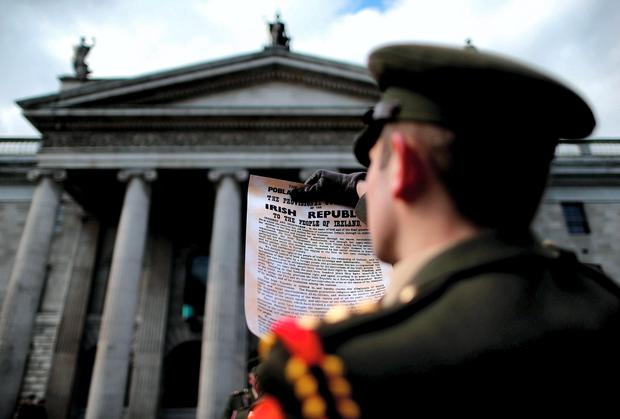 1916 Easter Rising anniversary