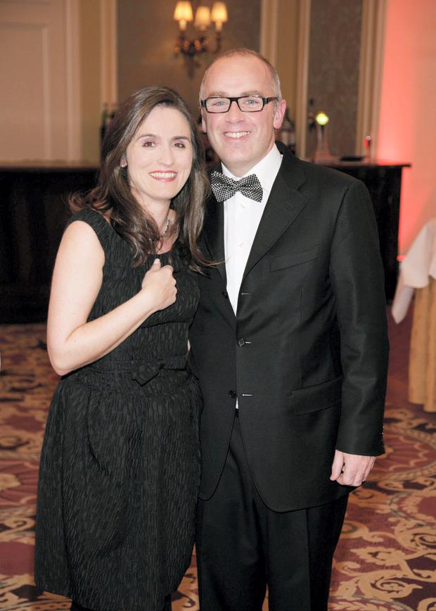 David Drumm and his wife Lorraine Drumm