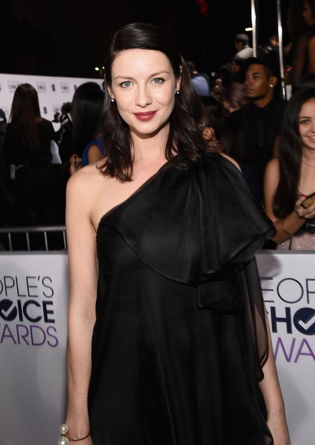Actress Caitriona Balfe attends The 41st Annual People's Choice Awards at Nokia Theatre LA Live