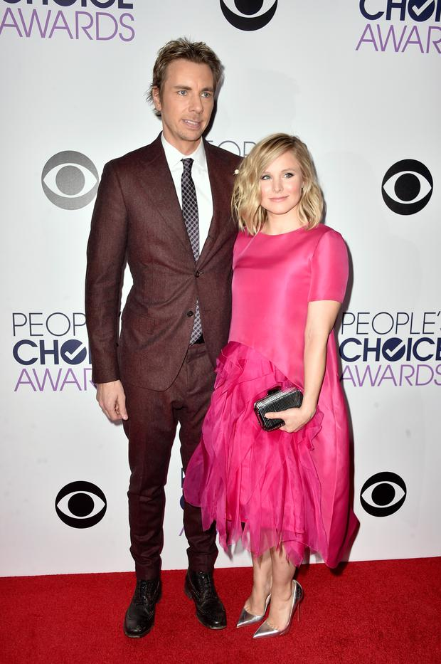 Dax Sheperd and Kristen Bell at the 41st Annual People's Choice Awards at Nokia Theatre LA Live