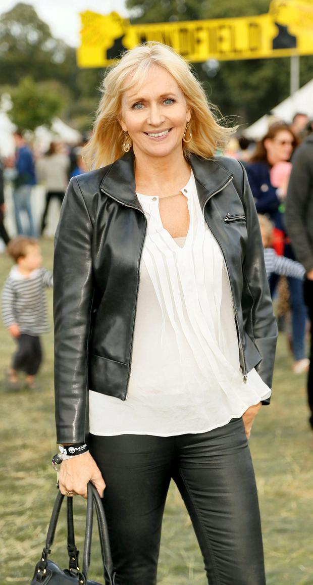 Miriam O'Callaghan at Electric Picnic