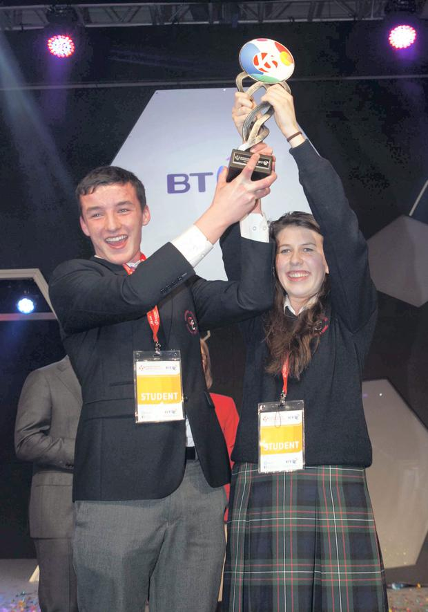 Ian O'Sullivan and Eimear Murphy from Kanturk, Co Cork
