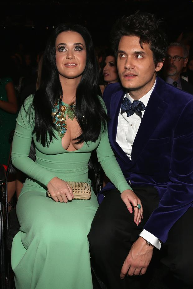 How long have katy perry and john mayer been hookup