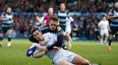 Noel Reid was in try-scoring form for Leinster at the weekend. Matt O'Connor's side host Castres at the RDS this Saturday.