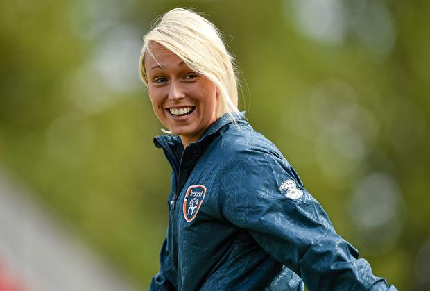 Stephanie Roche: 'I'd rather my goal be seen as a great footballing goal rather than a female goal'