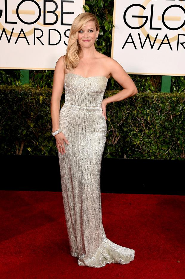 Golden Globes 2015: Actress Reese Witherspoon's Calvin Klein number is the epitome of understated elegance