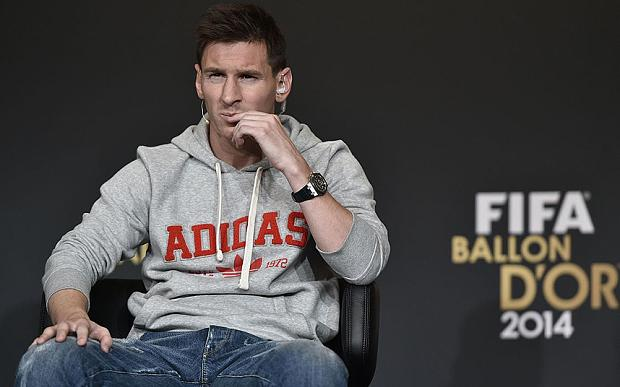 Doubts: Lionel Messi admits he does not know where he will be playing next season