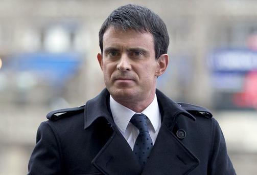 French Prime Minister Manuel Valls has said that France is at war against
