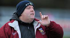 Wexford Youths manager John Flood