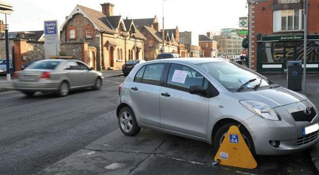 Over 56,000 vehicles were clamped on the city streets last year