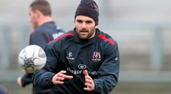 Payne has declared that he is nowhere near an international call-up, despite returning to the Ulster side that narrowly defeated Treviso last weekend.