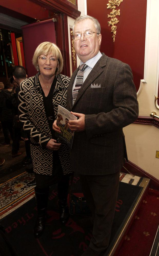 Joe Duffy and wife June