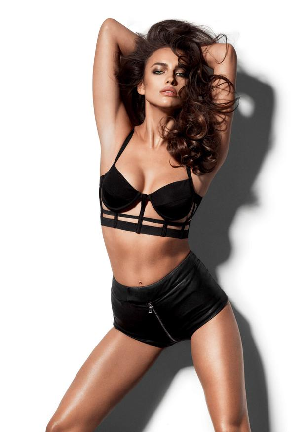 Irina Shayk has appeared multiple times on the pages of Maxim