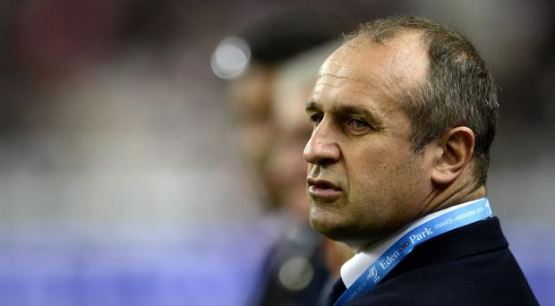 France's head coach Philippe Saint Andre