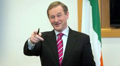 Enda Kenny (Photo: Gareth Chaney Collins)