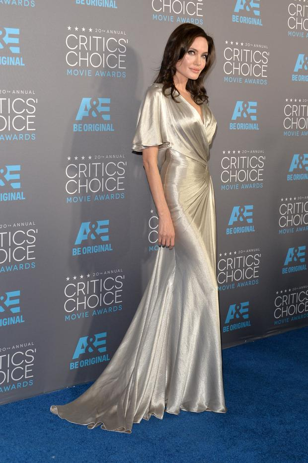 Actress/director Angelina Jolie attends the 20th annual Critics' Choice Movie Awards at the Hollywood Palladium