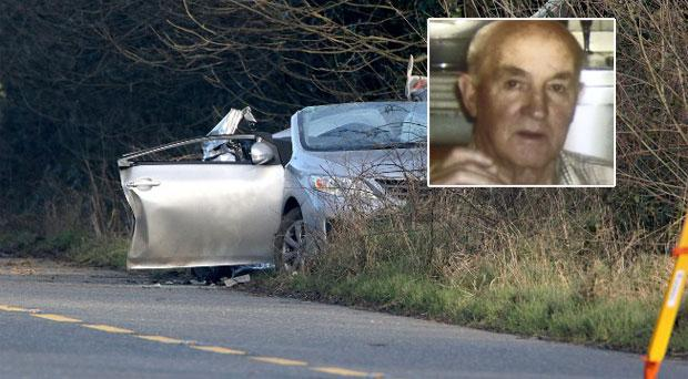 James Brennan (81) was killed in the smash outside Ferns, Co Wexford, on January 12.