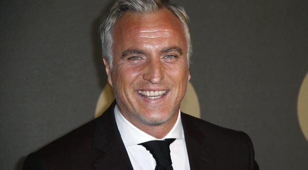 French ex-football player David Ginola