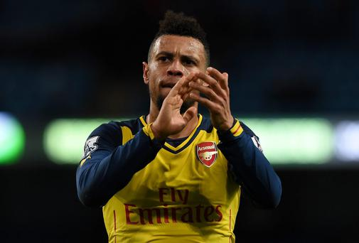 Francis Coquelin has been in impressive form for Arsenal of late. Photo: PAUL ELLIS/AFP/Getty Images
