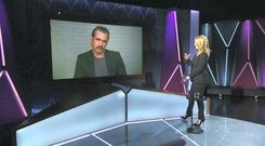 Presenter Claire Byrne interviews Irish Actor Colin Farrell on the subject of marriage equality
