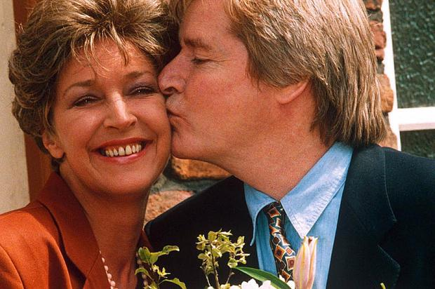 Anne Kirkbride and Bill Roache