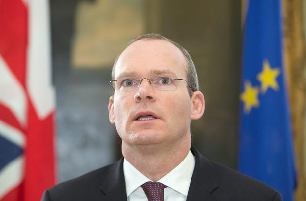 Minister for Defence Simon Coveney TD. Photo: Gareth Chaney Collins