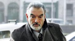 Ian Bailey arriving at the High Court. Photo: Courtpix