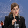 Emma Watson delivers her address