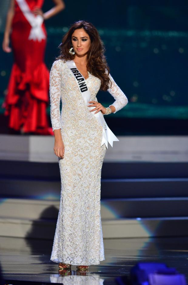 Miss Ireland Lisa Madden participates in 63rd Annual MISS UNIVERSE Preliminary Show at Florida International University