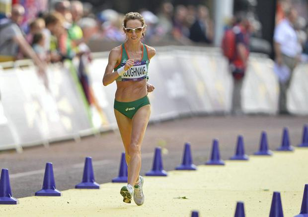 Olive Loughnane at the London Olympics in 2012