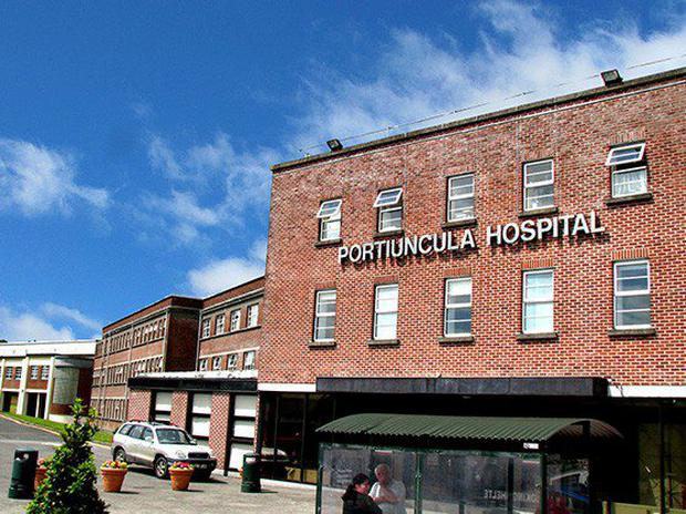 Portiuncula Hospital, which is located in Ballinasloe, Co Galway