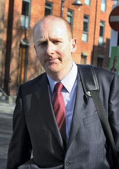 Lorcan O'Connor of the Insolvency Service. Photo: Tom Burke