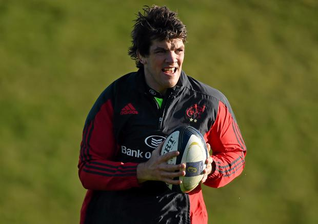 Munster 'A' head coach has included Donncha O'Callaghan in his side to take on Doncaster Knights this afternoon
