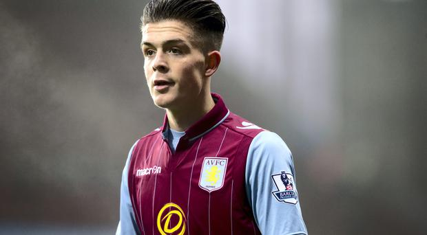 Irish U-21 international Jack Grealish has been compared to Barcelona's Andres Iniesta by team-mate Gabriel AGbonlahor