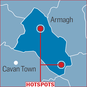 Good family homes within walking distance of the town centres in Carrickmacross and Monaghan Town.